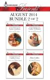 Harlequin Presents August 2014 - Bundle 2 of 2: An Anthology, Graham, Lynne & Williams, Cathy & Crews, Caitlin & Collins, Dani