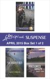 Love Inspired Suspense April 2015 - Box Set 1 of 2: An Anthology, Reed, Terri & Avella, Becky & Lynn, Dana R.