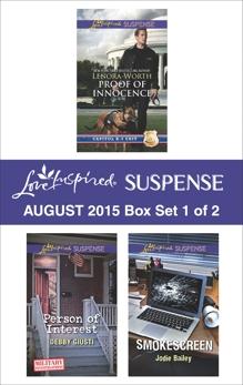 Love Inspired Suspense August 2015 - Box Set 1 of 2: An Anthology, Worth, Lenora & Giusti, Debby & Bailey, Jodie