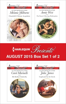 Harlequin Presents August 2015 - Box Set 1 of 2: An Anthology, Milburne, Melanie & Marinelli, Carol & James, Julia & West, Annie