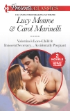 Valentino's Love-Child & Innocent Secretary...Accidentally Pregnant: An Anthology, Monroe, Lucy & Marinelli, Carol