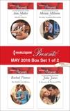 Harlequin Presents May 2016 - Box Set 1 of 2: An Anthology, Milburne, Melanie & Mather, Anne & James, Julia & Thomas, Rachael