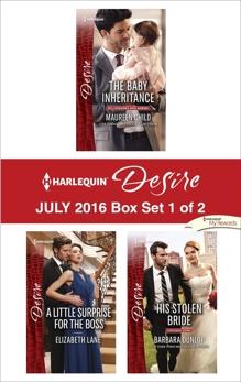 Harlequin Desire July 2016 - Box Set 1 of 2: An Anthology, Dunlop, Barbara & Child, Maureen & Lane, Elizabeth