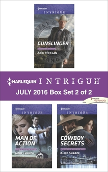 Harlequin Intrigue July 2016 - Box Set 2 of 2: An Anthology, Morgan, Angi & Crouch, Janie & Sharpe, Alice