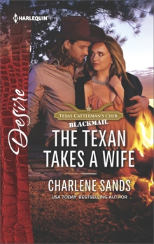 The Texan Takes a Wife, Sands, Charlene