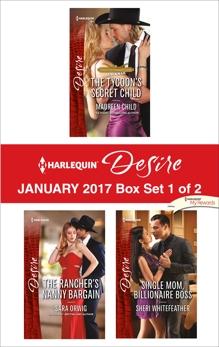Harlequin Desire January 2017 - Box Set 1 of 2: An Anthology, Child, Maureen & Orwig, Sara & WhiteFeather, Sheri