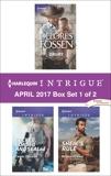Harlequin Intrigue April 2017 - Box Set 1 of 2: An Anthology, Fossen, Delores & Ericson, Carol & Kennie, Ryshia