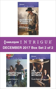 Harlequin Intrigue December 2017 - Box Set 2 of 2: An Anthology, Herron, Rita & Snell, Tyler Anne & Crouch, Janie