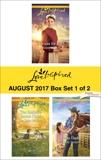 Harlequin Love Inspired August 2017 - Box Set 1 of 2: An Anthology, Miller, Emma & Navarro, Jolene & McClain, Lee Tobin