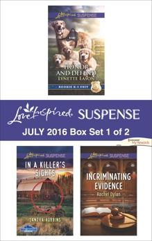 Harlequin Love Inspired Suspense July 2016 - Box Set 1 of 2: An Anthology, Eason, Lynette & Dylan, Rachel & Robbins, Sandra