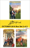Harlequin Love Inspired October 2016 - Box Set 2 of 2: An Anthology, Blount, Laurel & Goodnight, Linda & Ross, Mia