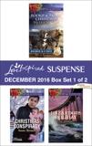 Harlequin Love Inspired Suspense December 2016 - Box Set 1 of 2: An Anthology, Hansen, Valerie & Worth, Lenora & Sleeman, Susan & Johnson, Liz
