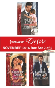 Harlequin Desire November 2016 - Box Set 2 of 2: An Anthology, Lindsay, Yvonne & Bennett, Jules & Celmer, Michelle