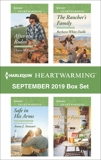 Harlequin Heartwarming September 2019 Box Set: A Clean Romance, White Daille, Barbara & McEwen, Claire & Stewart, Anna J. & Powell, Syndi