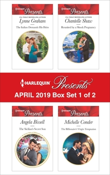 Harlequin Presents - April 2019 - Box Set 1 of 2: An Anthology, Shaw, Chantelle & Graham, Lynne & Conder, Michelle & Bissell, Angela