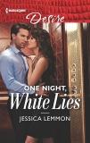 One Night, White Lies: A best friend's sister, mistaken identity romance, Lemmon, Jessica