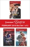 Harlequin Desire February 2019 - Box Set 1 of 2: An Anthology, Wood, Joss & Lemmon, Jessica & Troutte, Kimberley