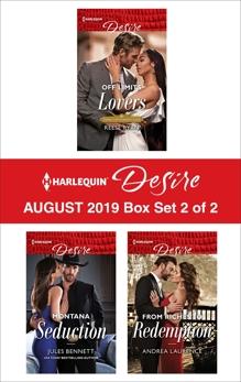 Harlequin Desire August 2019 - Box Set 2 of 2, Bennett, Jules & Ryan, Reese & Laurence, Andrea