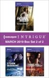 Harlequin Intrigue March 2019 - Box Set 2 of 2: An Anthology, Webb, Debra & Hauf, Michele & Miles, Cassie