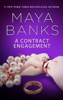 A Contract Engagement: A Romance Novel, Banks, Maya
