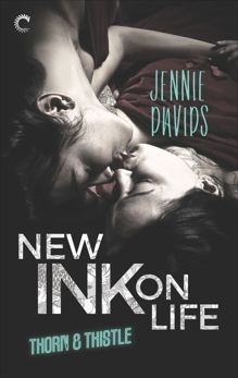 New Ink on Life: An Opposites-Attract Lesbian Romance, Davids, Jennie