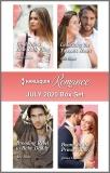 Harlequin Romance July 2020 Box Set, Colter, Cara & Blake, Ally & Gilmore, Jessica & Hayes, Ella