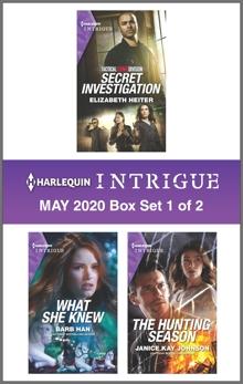 Harlequin Intrigue May 2020 - Box Set 1 of 2