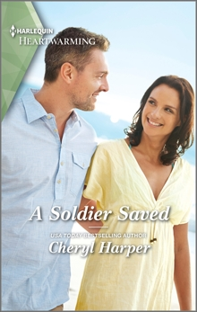 A Soldier Saved: A Clean Romance, Harper, Cheryl