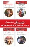 Harlequin Presents November 2018 - Box Set 1 of 2, Kendrick, Sharon & Marinelli, Carol & West, Annie & Thomas, Rachael