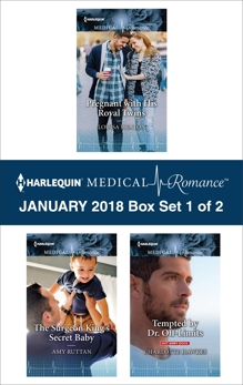 Harlequin Medical Romance January 2018 - Box Set 1 of 2, Heaton, Louisa & Ruttan, Amy & Hawkes, Charlotte