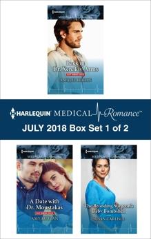 Harlequin Medical Romance July 2018 - Box Set 1 of 2, Carlisle, Susan & Berlin, Amalie & Ruttan, Amy