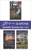 Harlequin Love Inspired Suspense January 2018 - Box Set 1 of 2, Scott, Laura & Nelson, Jill Elizabeth & Vaughan, Virginia