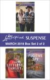 Harlequin Love Inspired Suspense March 2018 - Box Set 2 of 2, Black, Maggie K. & Robbins, Sandra & Redwood, Jordyn