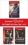 Harlequin Desire October 2018 - Box Set 1 of 2, Child, Maureen & Ryan, Reese & Garbera, Katherine