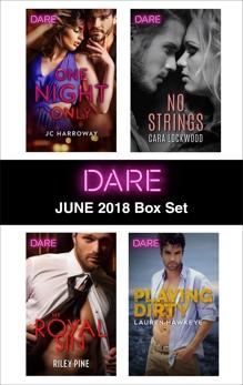 Harlequin Dare June 2018 Box Set, Harroway, JC & Pine, Riley & Hawkeye, Lauren & Lockwood, Cara