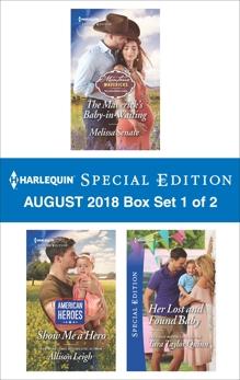 Harlequin Special Edition August 2018 - Box Set 1 of 2, Senate, Melissa & Leigh, Allison & Quinn, Tara Taylor