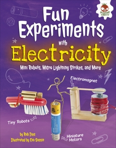 Fun Experiments with Electricity: Mini Robots, Micro Lightning Strikes, and More, Ives, Rob