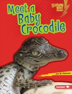 Meet a Baby Crocodile, Fishman, Jon M.