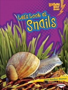 Let's Look at Snails, Waxman, Laura Hamilton