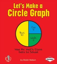 Let's Make a Circle Graph, Nelson, Robin