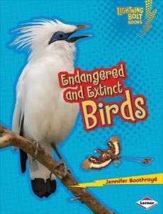 Endangered and Extinct Birds, Boothroyd, Jennifer