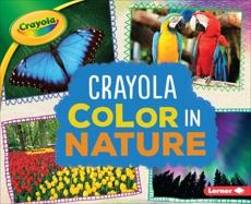 Crayola ® Color in Nature, Schuh, Mari