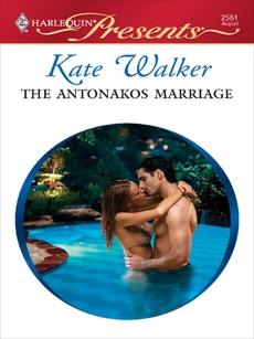 The Antonakos Marriage, Walker, Kate