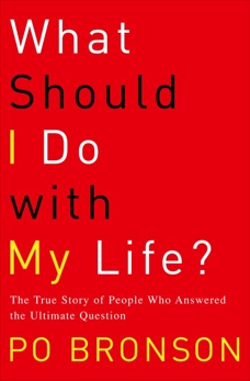 What Should I Do with My Life?: The True Story of People Who Answered the Ultimate Question, Bronson, Po