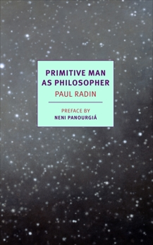 Primitive Man as Philosopher, Radin, Paul