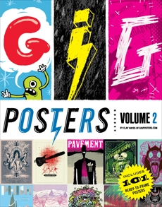 Gig Posters Volume 2: Rock Show Art of the 21st Century, Hayes, Clay