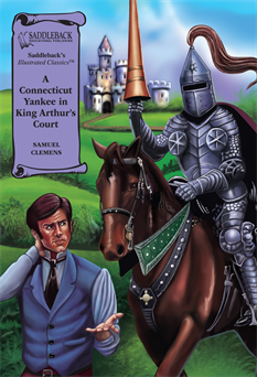A Connecticut Yankee in King Arthur's Court Graphic Novel, Clemens, Samuel