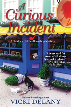 A Curious Incident: A Sherlock Holmes Bookshop Mystery, Delany, Vicki