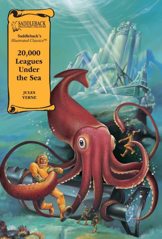 20,000 Leagues Under the Sea Graphic Novel, Verne, Jules