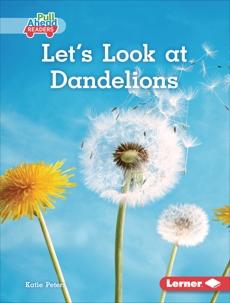 Let's Look at Dandelions, Peters, Katie